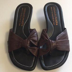 Donald J Pliner Leather Sandals SZ 6